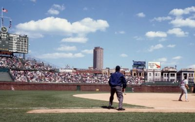 Chicago Cubs Versus the St. Louis Cardinals in NL North Play-in Game