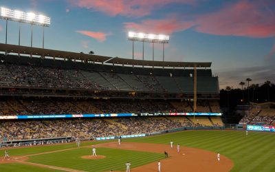 Eternal Baseball – Game #01 – Opening Day – The Chicago Cubs at the Los Angeles Dodgers